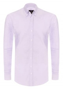 Koszula Oxford Purple / slim fit