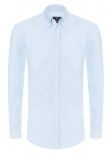Koszula Oxford Sky Blue / slim fit