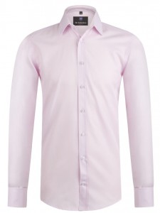 Koszula Salzburg Light Rose lux / mankiet zapinany na spinkę / slim fit