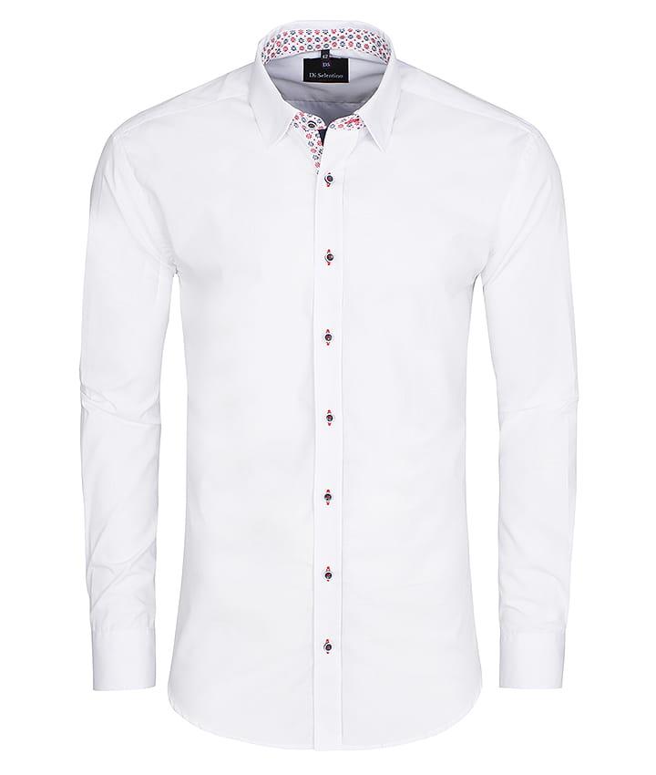 Elegancka koszula męska Di Selentino Kołobrzeg Custom biała